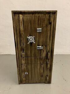 "Antik Nostalgischer Tresor Safe Möbeltresor""Braun Dekor"" 145KG"