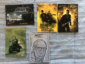 Indiana Jones & The Kingdom Of The Crystal Skull Artist Sketch Card/chase Foil
