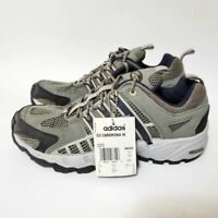 Adidas Mens 8 CC Cardrona Trail Running Shoes Gray Lace Up Low Top New