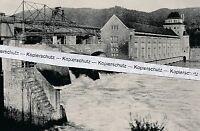 Laufenburg am Hochrhein  - Kraftwerk - um 1930 (?) - selten!  O 22-7