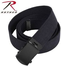 Rothco Boys & Men Military Web Belts 100% Cotton (CUT TO FIT) 4294 4296