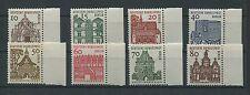 BERLIN DAUERSERIE 242/249 BAUWERKE 1964 Rand rechts postfrisch ** Mi 32.- m511