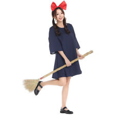 Halloween Japan Anime Kiki's Delivery Service Dress Fancy Cosplay For Women Maid
