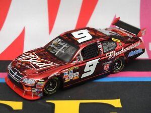 Kasey Kahne #9 Autographed Budweiser Announcement Color Chrome 2008 1:24 Elite