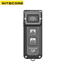 New Nitecore TUP USB Recharge Cree XP-L HD V6 LED 1000 Lumens Flashlight (Grey)