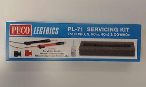 Electric Servicing Kit (loco maintenance) N/OO-9/OO/HO – Peco PL-71