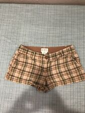 Junior's ZINC plaid shorts. Size 7