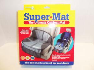 NEW Sunshine Kids Super Mat Ultimate Car Seat Mat Protector for Baby Car Seats