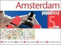Amsterdam PopOut Map by PopOut Maps 9781910218327 | Brand New | Free UK Shipping