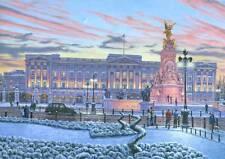 """Superbe originale de Richard Harpum M.A (Camb) """"Palais de Buckingham"""" London peinture"""