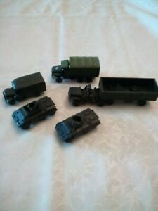 Roco minitanks  five American vehicles ho-oo scale lot