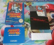 Juego Completo Nintendo Nes Megaman 2 Versión Pal B ESP España 100% Original CIB
