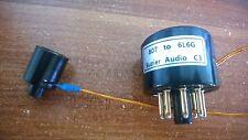 1 × 807 To EL34 KT88 6L6 6L6G Vacuum Tube Amplifier Convert Socket Adapter