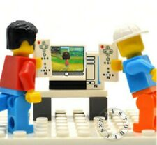 Awesome Custom Wii Game Console set for LEGO Minifigures!