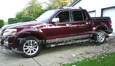 "2007-2010 Ford Explorer Sport Trac 8Pc Chrome Rocker Panel Trim 5.5"""
