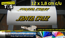 Santa Cruz pegatina sticker decal aufkleber 3M 50 adesivi autocollant vinyl