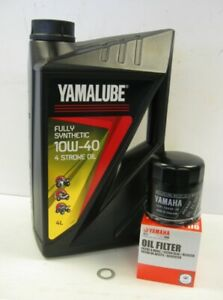 Yamalube Fully Synthetic Oil Service Kit -Yamaha MT 07, XSR700, Tracer 700