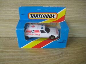 MATCHBOX SUPERFAST   MB 12 CITREON CX  AMBULANCE    ABSOLUTELY MINT