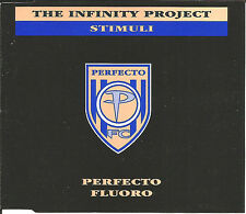 INFINITY PROJECT Stimuli w/ MAN WITH NO NAME MIX  CD single USA Seller SEALED
