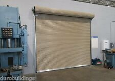 durosteel janus 12 wide by 16 tall 2000 series commercial roll up door - 16 Ft Garage Door