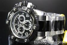 Invicta Reserve Grand Arsenal Octane 63mm Black  Steel Swiss Made Watch New