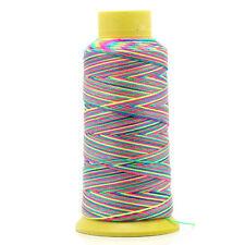 180m colorido Hilo de Algodón 0,6mm coser Cordón Rollo