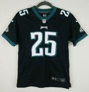 LeSean McCoy Philadelphia Eagles Nike NFL Black Football Jersey Youth Medium M