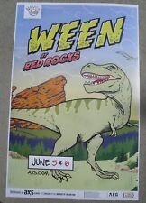 WEEN June 5 & 6, 2018 Red Rocks - Colorado Concert Promo Poster 11x17 Handbill