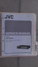 JVC ks-ea50 service manual original repair book stereo car sea eq amp amplifier