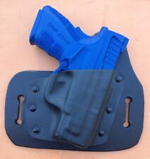 Leather/kydex hybrid OWB beltslide holster for Springfield XD Mod 2 9mm, .40