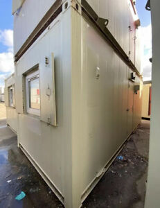 20ft  Sleeper Unit / Two Rooms With Toilet & Shower / Site Cabin /Glamping Pod
