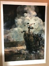 Ashley Wood Sorrento Assault Rare Signed Art Print Poster 3A There TK Version