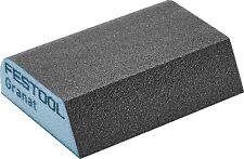 Festool 4 lados abrasivo Granat Esponja de mano x6 | 69x98x26 120 Co GR/6 | 201084