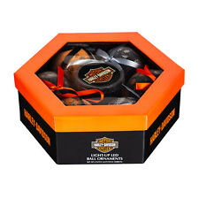 Harley-Davidson LED Ornament Box Set, 6-Pack