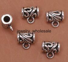 25pcs Tibetan Silver Connector Spacer Bail Beads Fit Bracelet 11x7x10mm A3124