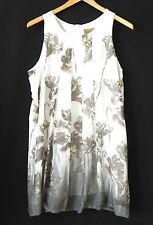 Midnight Velvet Dress Bubble Style Sleeveless Poly Chiffon Size L