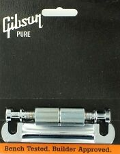GIBSON PTTP-010 STOP BAR CHROME TAIL PIECE w/stud insert LES PAUL PONTE NW