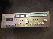 Vintage Panasonic Receiver Cassette Deck Radio AM/FM Tape Player RA-6500
