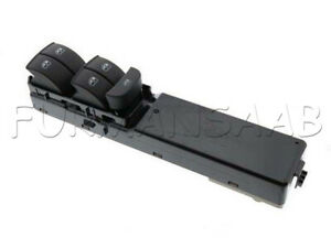 SAAB 9-3 Window Switch Front LH DRIVER WITH ANTI PINCH NEW GENUINE 12772023