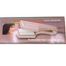 Vidal Sassoon Vintage NEW 1987 Womens Professional Hair Crimping Iron VS-142