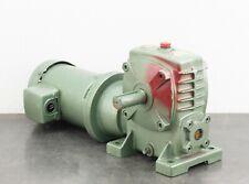 Yaskawa Bellpony Electric Gear Motor 12 Hp 3ph 460 Vac 4kw 172 Rpm 110 Ratio