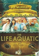 The Life Aquatic With Steve Zissou ~ Criterion Collection DVD ~ FREE Shipping