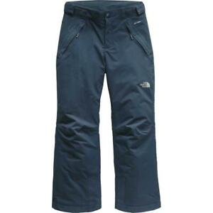 The North Face Freedom Insulated Pant - Girl's L/G 14-16 Blue wing teal