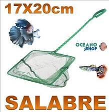 SALABRE 20x17CM ACUARIO de malla RED Verde pecera peces mango tortuguera pez