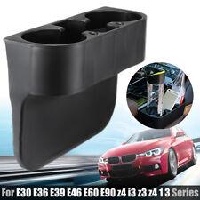 Front Cup Holder Black For BMW E30 E36 E39 E46 E60 E90 Z4 I3 Z3 328i 1 3 Series