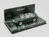 MINICHAMPS 1:43  BENTLEY CONTINENTAL GTC  2011  GREEN