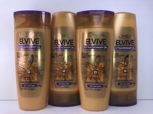 4 L'Oreal Extraordinary Oil Curl Nourishing Shampoo & Conditioner, 2 of Each