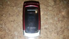 Samsung SGH T219 - Red (T-Mobile) Cellular Phone.Fast Shipping.