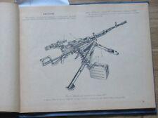 Guidance Heavy Machine Gun Cliff Nsv 12.7 mm Russian Book Manual Army Military B