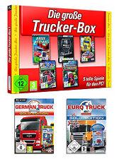 Le grand camion/poids lourds simulator paquet pour pc [9 x versions complètes] article neuf | DT.